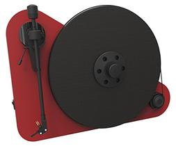 Pro-Ject VT-E R  - RED Vertical Turntable, Red/Matte