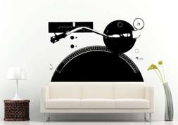Wall or Car Decal Vinyl Sticker Mural Room Decor Dj Music Vi