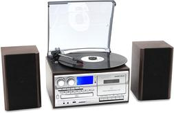 Wireless Record Player 8 In 1 3 Speed Bluetooth Vintage Turn