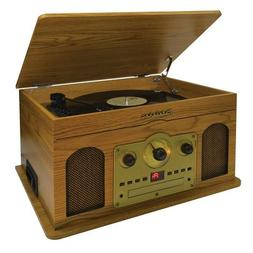 WOOD 5 IN 1 MUSIC SYSTEM