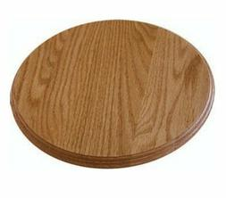 "Wood Lazy Susan Turntable 10"" Solid Oak Amish Made Pick Your"